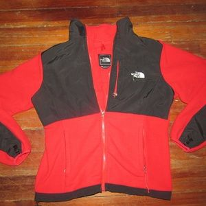 The North Face Denali Polartec Red Black